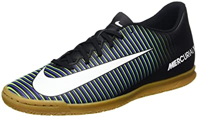 Nike Men's Mercurial Vortex Iii Ic Futsal Shoes, Black (Black/Wht-Prmnt