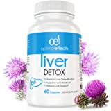 Natural Liver Cleanse Detox Supplement by Optimal Effects - Improve Digestion Healthy Liver Support - All Natural Detox Formula to Remove Toxins - Powerful Antioxidant - Milk Thistle Ext. 60 caps