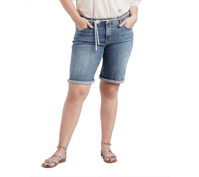 2a98d1ef Online Cheap wholesale Levis Womens Plus-Size Shaping Bermuda Shorts,  Shorts Suppliers