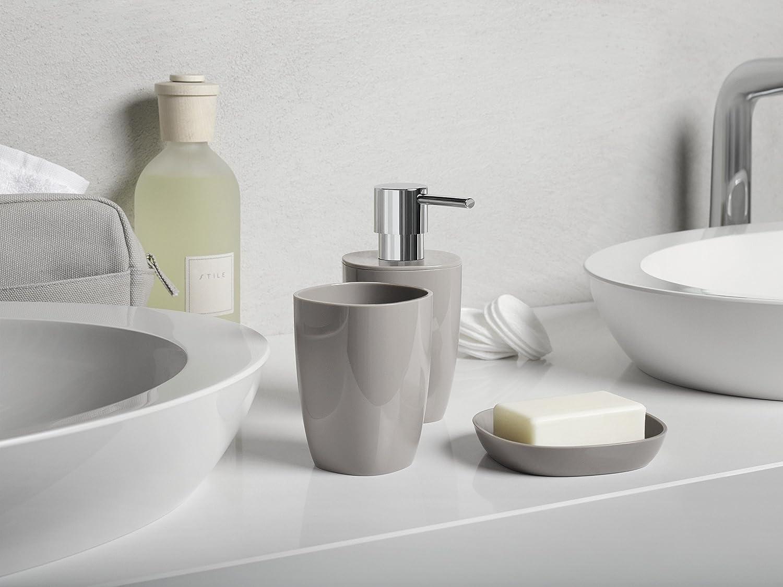 Spirella Toilet Brush Bathroom Accessories, Polystyrene, 35.5 x 12 x ...