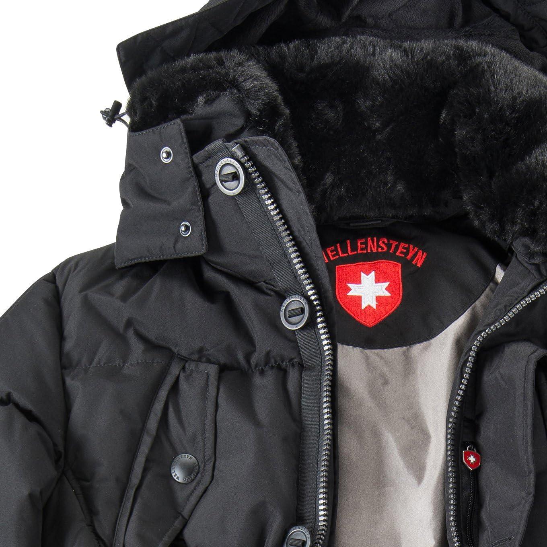 Wellensteyn Übergrößen Herren Winterjacke im Daunen Look