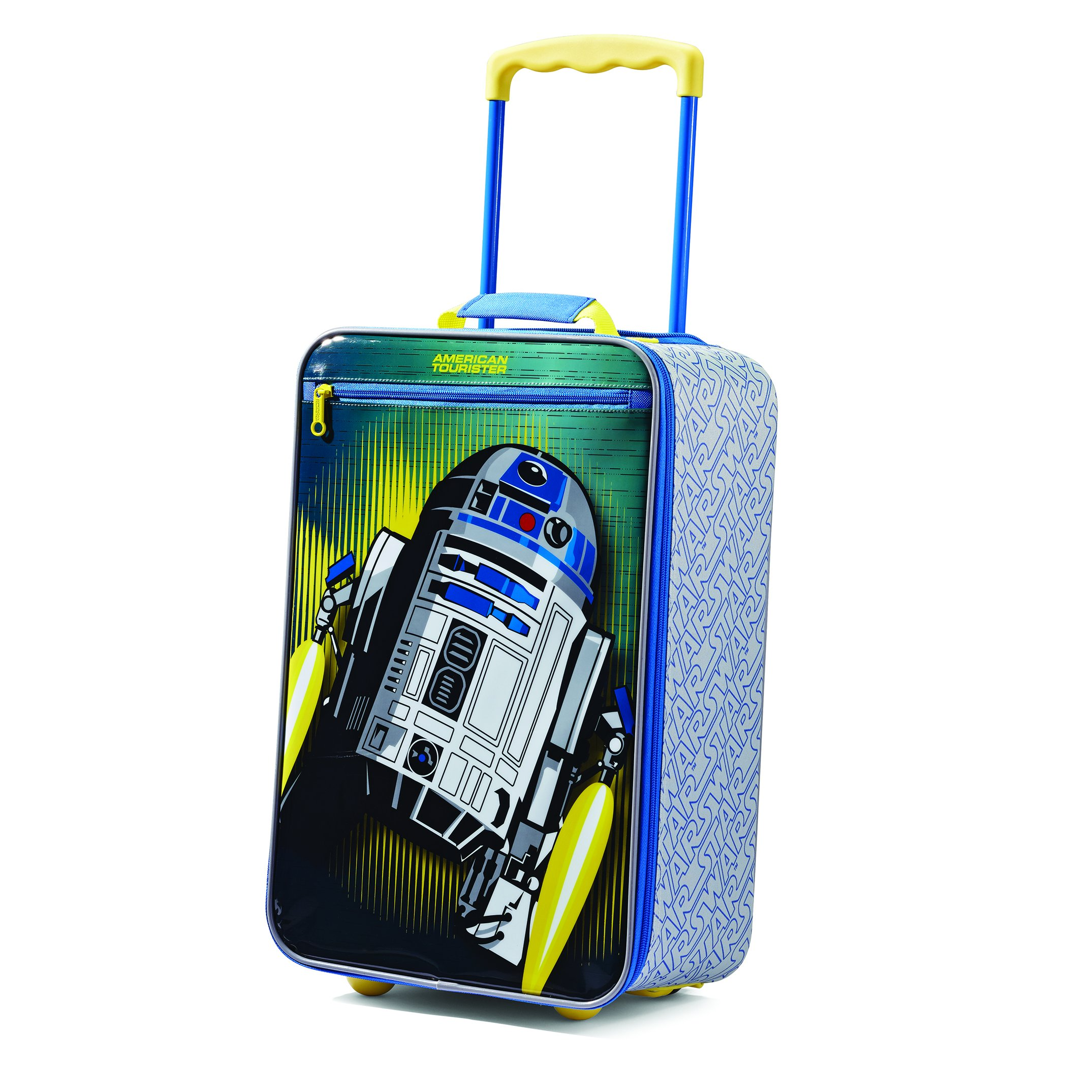 American Tourister Disney 18 Inch Upright Soft Side, Star Wars/Multi