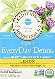 Traditional Medicinals Organic Everyday Detox Lemon Tea, 16 Tea Bags