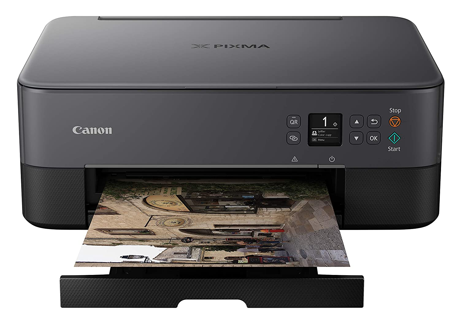 Canon Pixma TS5320 Wireless All In One Printer, Scanner, Copier with AirPrint, Black