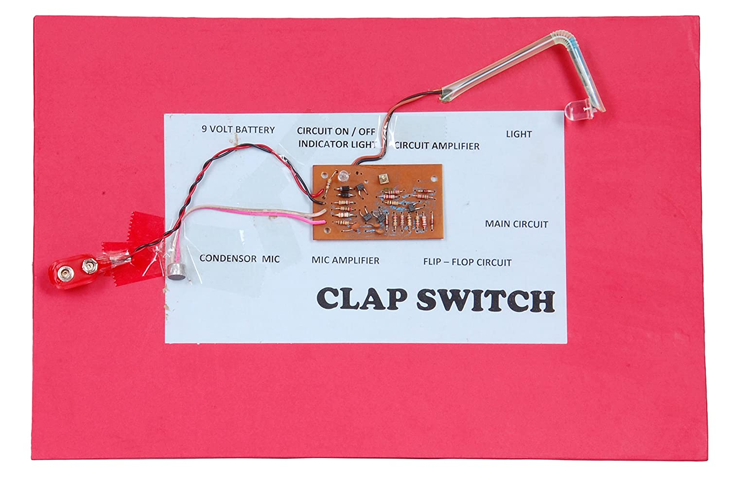 Buy Clap Switch Ready For Demonstration And Understanding Circuit Kit Online At Low Prices In India