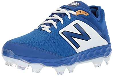 18e04634ad65 New Balance Men's 3000v4 Baseball Shoe, Royal/White, 1.5 2E US
