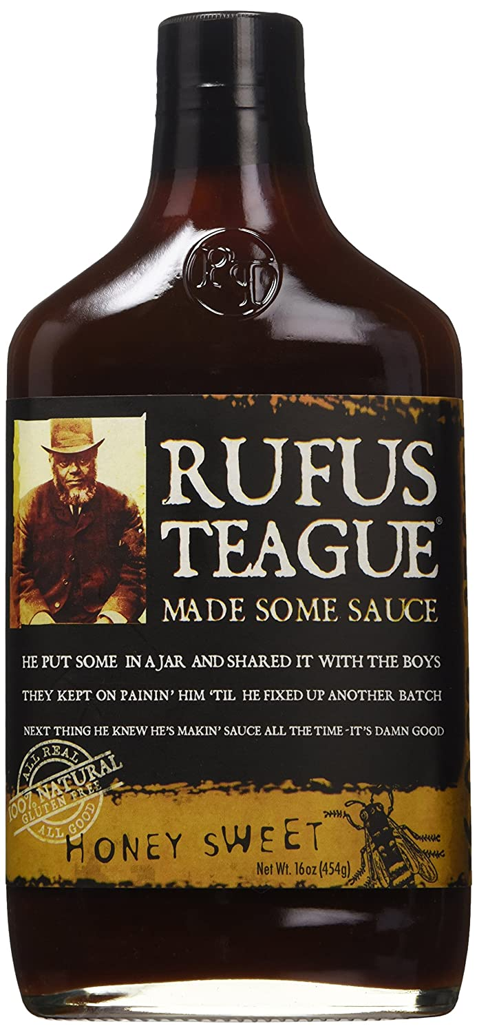 Rufus Teague Honey Sweet BBQ Sauce - 453g (16 oz): Amazon.es: Alimentación y bebidas