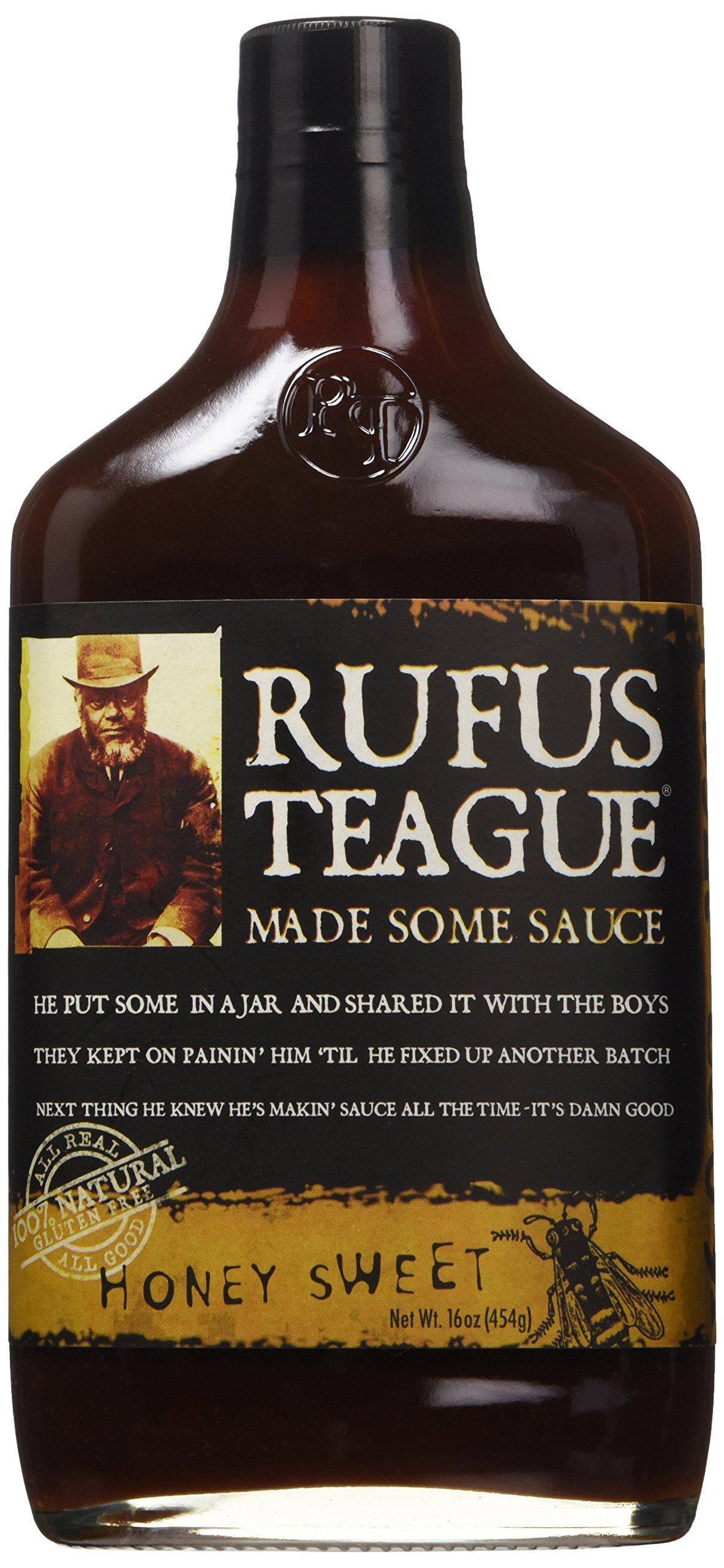 Rufus Teague Honey Sweet BBQ Sauce, 16 oz(454g)