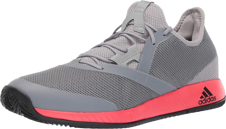 período Corchete granero  Amazon.com | adidas Men's Adizero Defiant Bounce Tennis Shoe | Tennis &  Racquet Sports