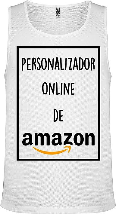 Camiseta de Tirantes Personalizada   Hombre   Transpirable ...