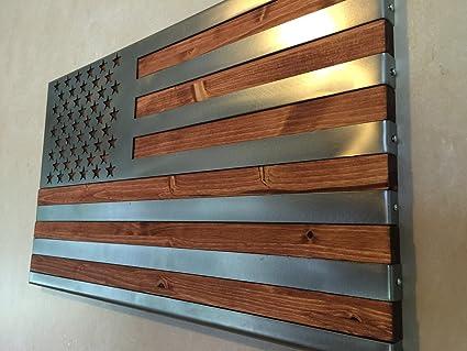 metal art of wisconsin Amazon.com: Metal Art of Wisconsin Metal Art US Flag Metal Decor  metal art of wisconsin