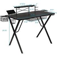 Deals on Atlantic 33950212 Gaming Desk Pro