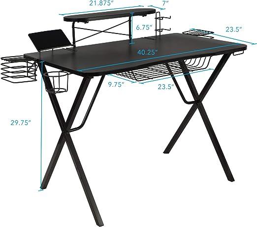 Atlantic 33950212 Gaming Desk - Best gaming desk for the price