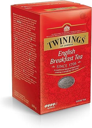 Twinings Té sin English Breakfast 200 g, 1er Pack (1 x 200 g ...