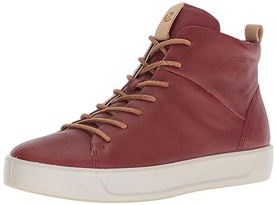 fe0912af04b975 Amazon.com | ECCO Women's Soft 8 High-top Fashion Sneaker | Fashion ...