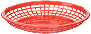 TableCraft Products C1084R Cash and Carry Jumbo Basket, Red (Pack of 36)