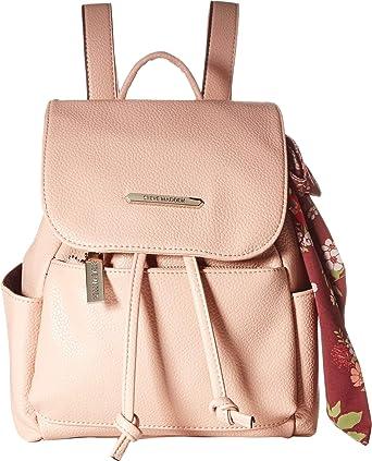 11bc095e63 Amazon.com: Steve Madden Women's Btran Backpack Blush One Size: Clothing