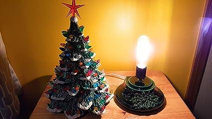 Amazon Com Ceramic Christmas Tree 15 Inches New Home Kitchen