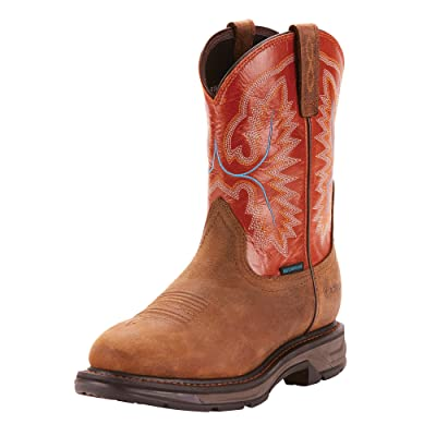 ARIAT Men's Workhog Xt Waterproof Work Boot | Industrial & Construction Boots