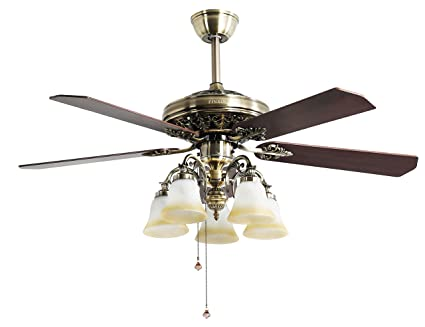 Indoor Ceiling Fan Light Fixtures   FINXIN FXCF03 (New Style) New Bronze  Remote LED