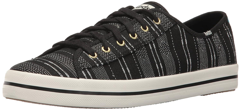 Keds Women's Kickstart Baja Stripe Fashion Sneaker B01J8IYJG0 7.5 B(M) US|Black