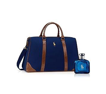 c1ba440556 Amazon.com   Ralph Lauren Polo Blue Eau De Toilette And Duffle Bag Set    Beauty