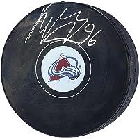 Mikko Rantanen Colorado Avalanche Autographed Hockey Puck - Autographed… photo