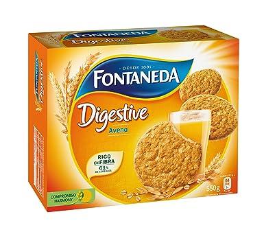Fontaneda - Digestive- Galletas con avena - 550 g
