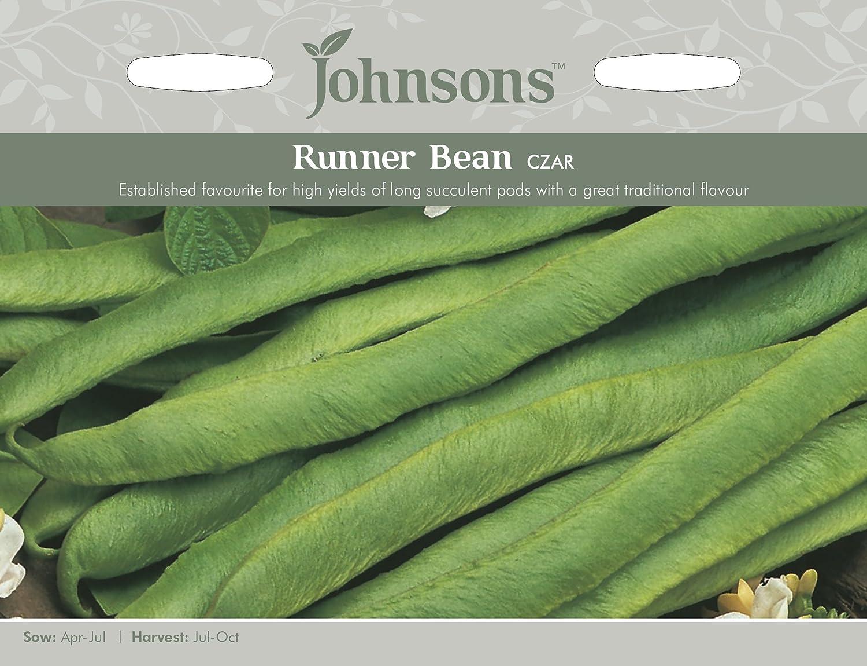 Johnsons UK/JO/PB Runner Bean Czar Johnsons Seeds