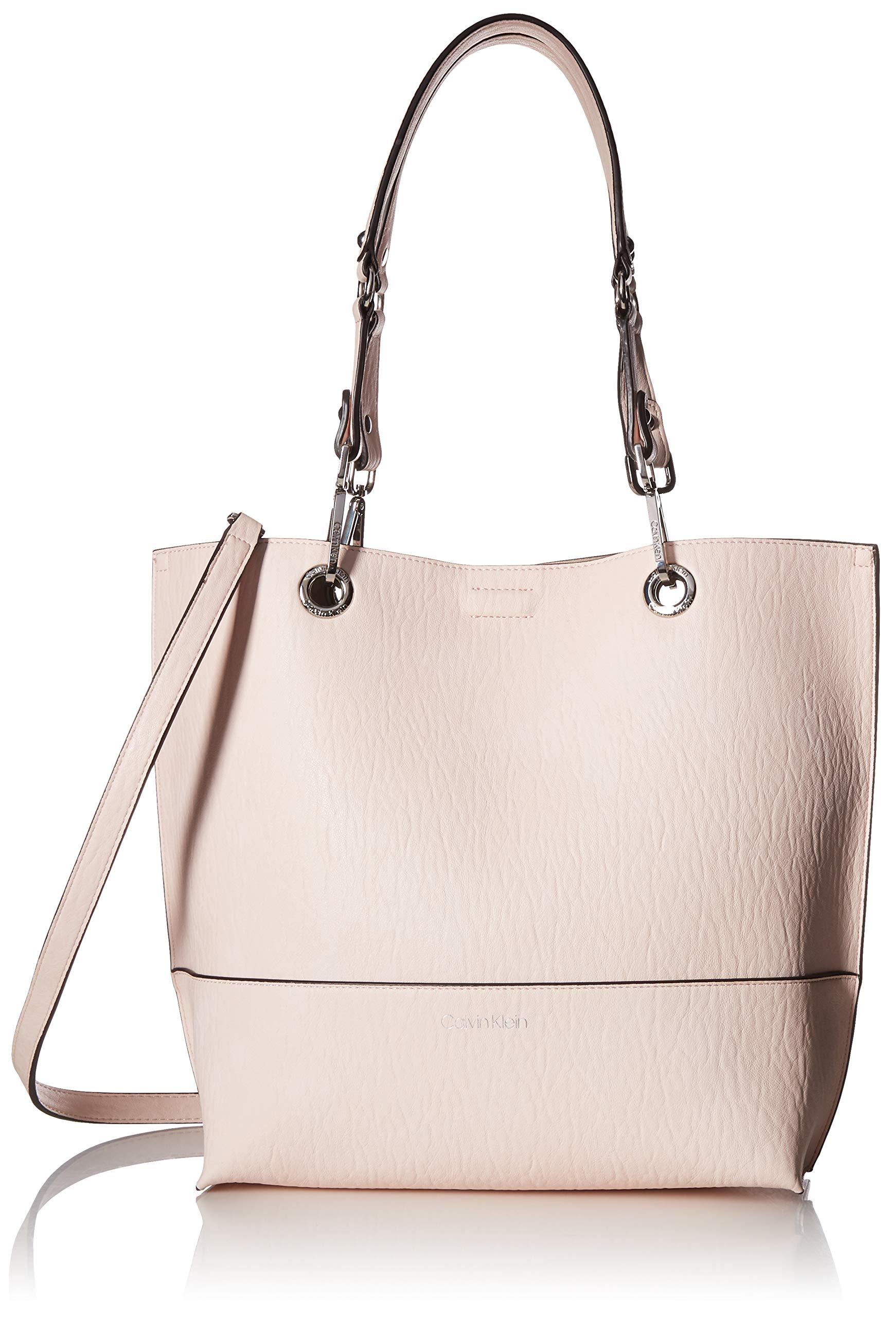 Calvin Klein Reversible Novelty Key Item N/s Tote, Powder Pink