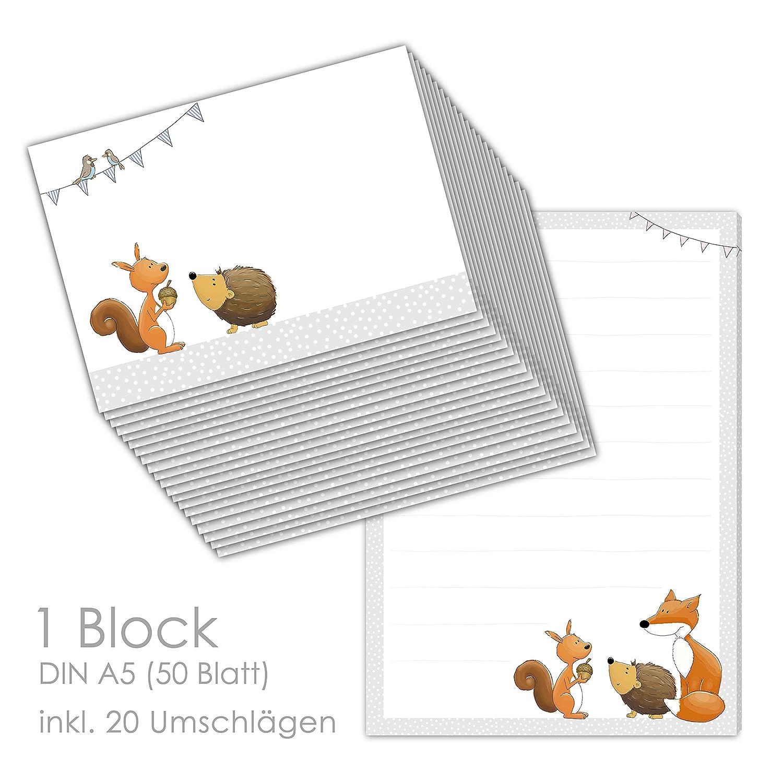 Briefpapier-Set für Kinder \