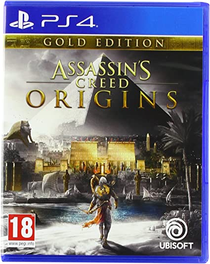Assassins Creed Origins - Edition Gold - PlayStation 4 ...
