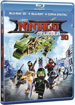 La Legoninjagopelicula Blu-Ray 3d + 2d [Blu-ray]: Amazon.es ...