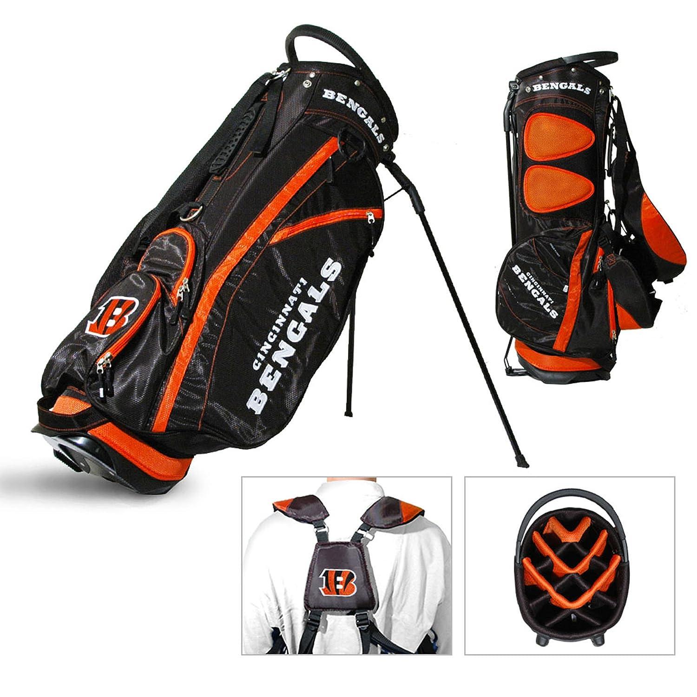 Cincinnati Bengalsチームゴルフフェアウェイウッド軽量14-wayトップゴルフクラブスタンドバッグ B01EZ8AGTW