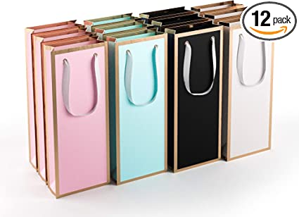 Amazon.com: [12 Pack] Bolsas de vino, bolsas de regalo para ...
