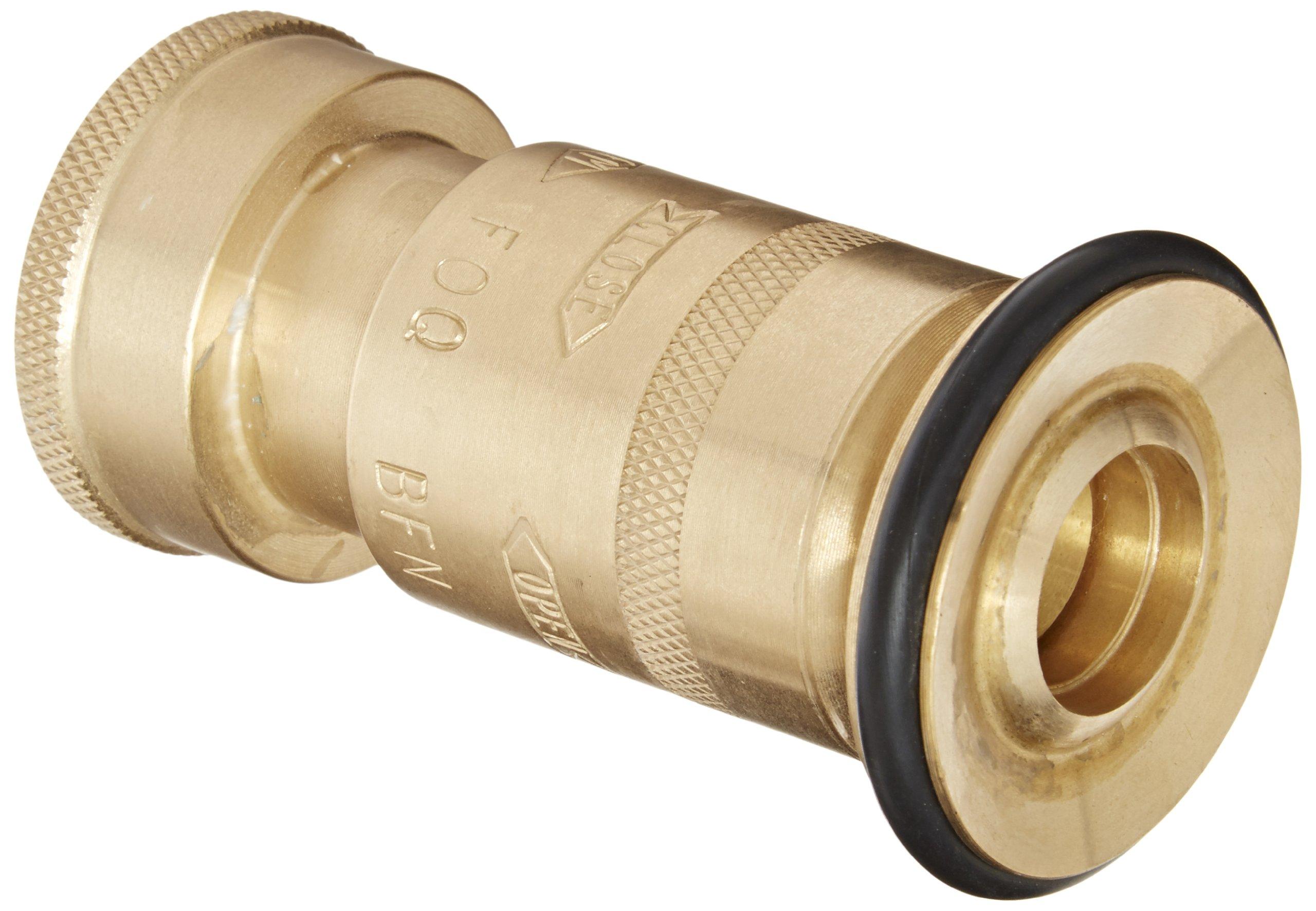 Dixon Valve BFN75GHT Brass Fire Equipment, Industrial Fog Nozzle, 3/4'' GHT