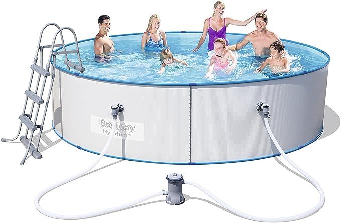 Piscina Desmontable de Acero Bestway Hydrium Splasher 360x90 cm ...