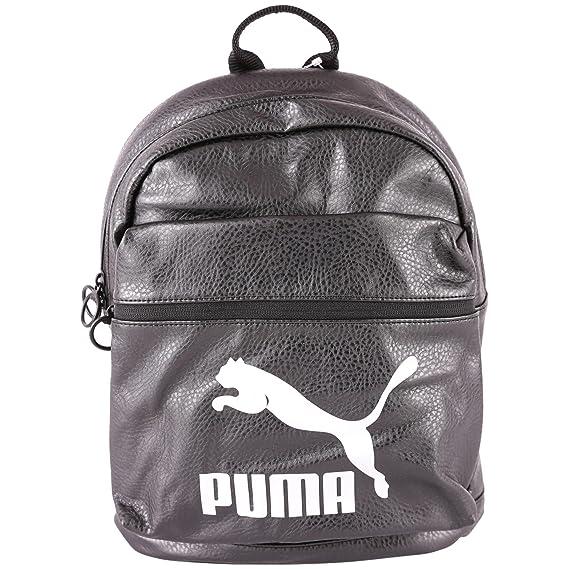 b5130187b4 PUMA Prime Backpack Metallic Puma Black -: Amazon.co.uk: Shoes & Bags