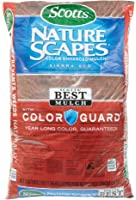 Scotts 88402440 2 Cu Ft Sierra Red Nature Scapes Color Enhanced Mulch, Brown