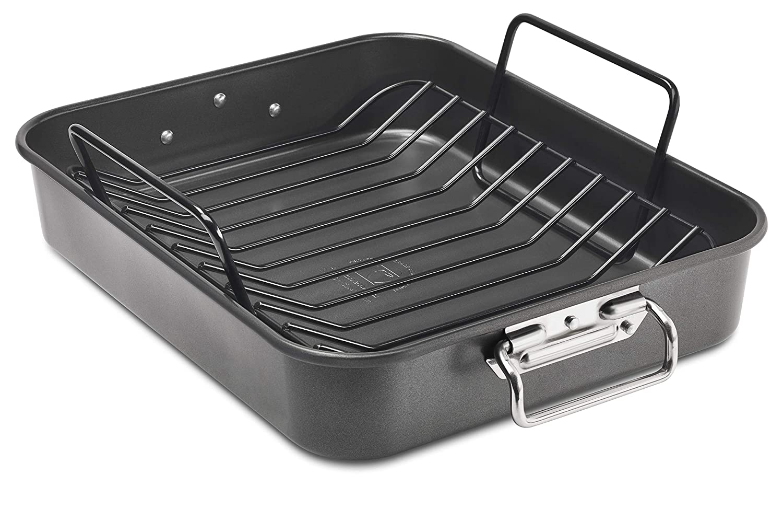 KitchenAid KB2NSO16RP - Fuente para horno (acero aluminizado, 18/10 ...