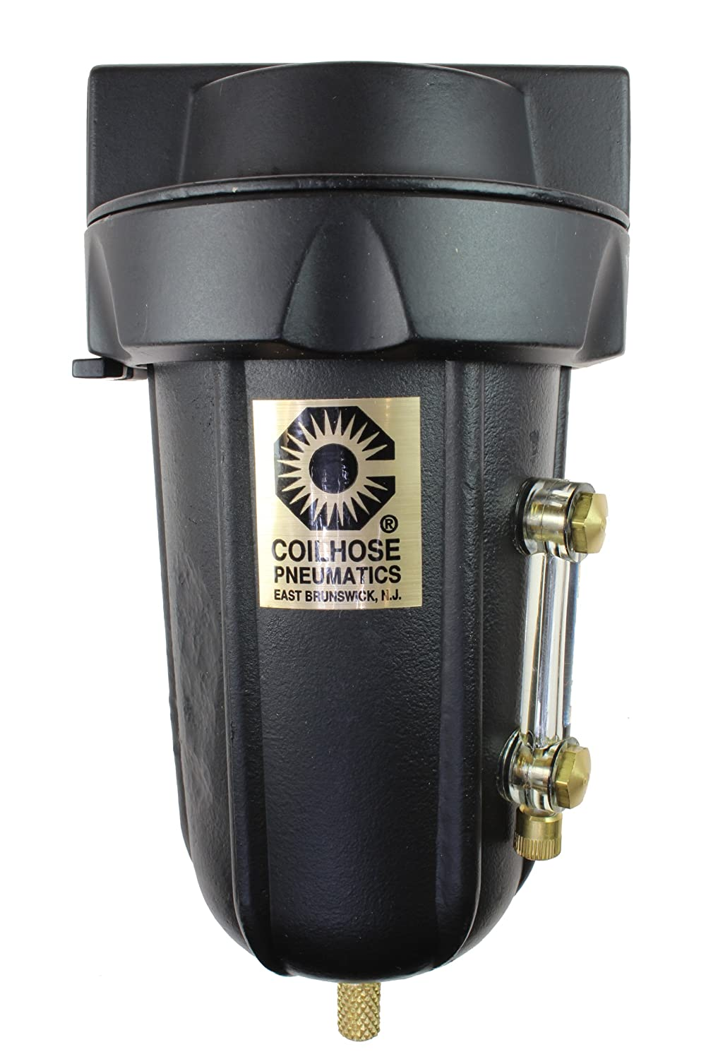 Coilhose Pneumatics 8826MD Heavy Duty Series Filter 3//4-Inch Pipe Size with Metal Bowl and Sight Glass and with Automatic Drain