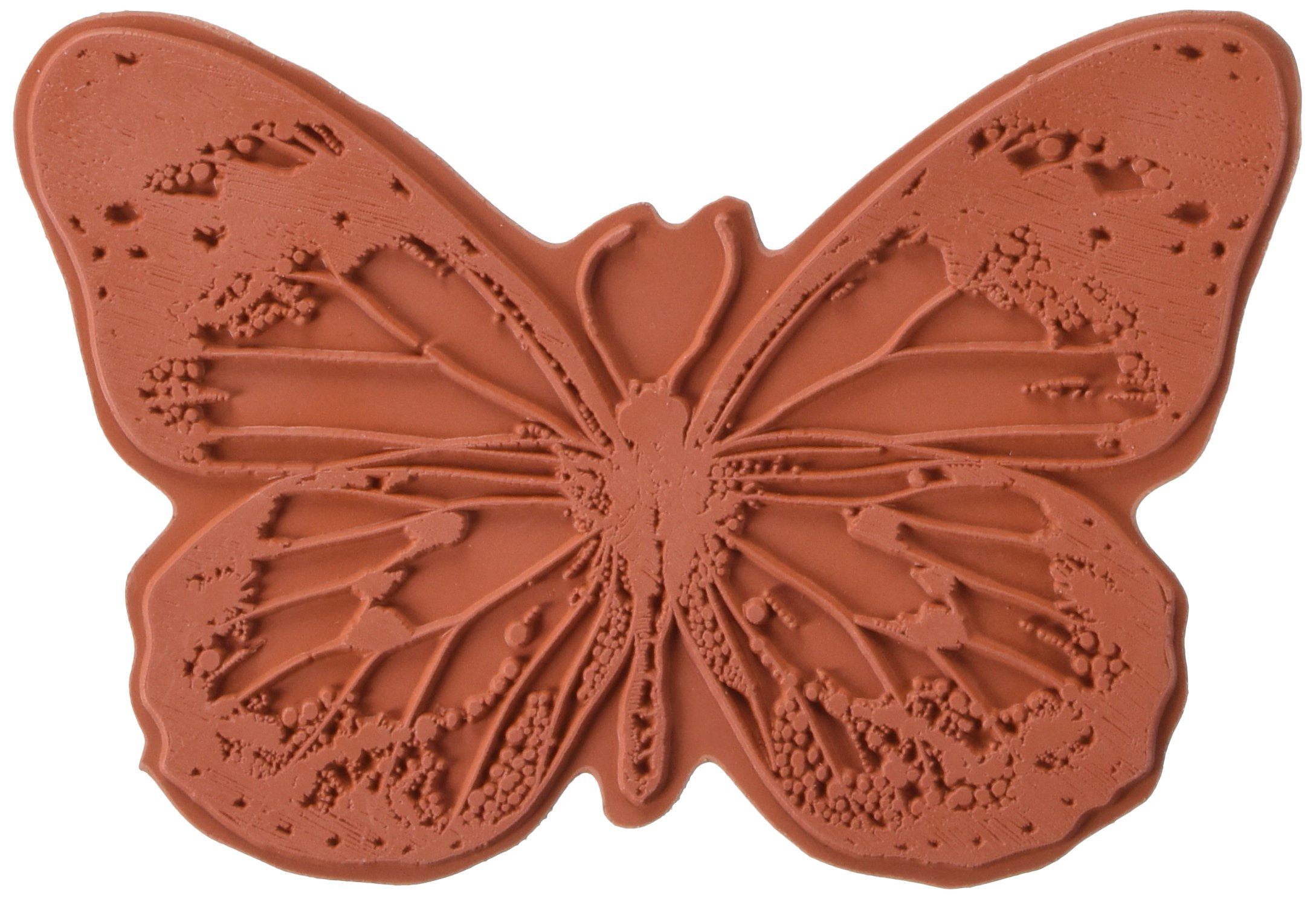 IndigoBlu Cling Mounted Stamp, 5 by 4-Inch, Big Butterfly