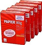 Avery Zweckform 2575 Drucker- und Kopierpapier A4, 80 g/m², 5 x 500 Blatt, alle Drucker, weiß (Frustfreie Verpackung)
