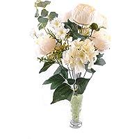 11 Dallı 50 cm Gül Demeti Yapay Çiçek