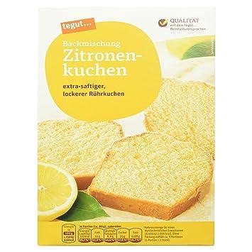 Tegut Kuchenbackmischung Zitronenkuchen 485 G Amazon De Amazon Pantry