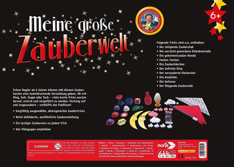 Noris 1 2 3 Bunte Zauberei Zauberkasten Zaubertricks Zauber Tricks Magie Kinder