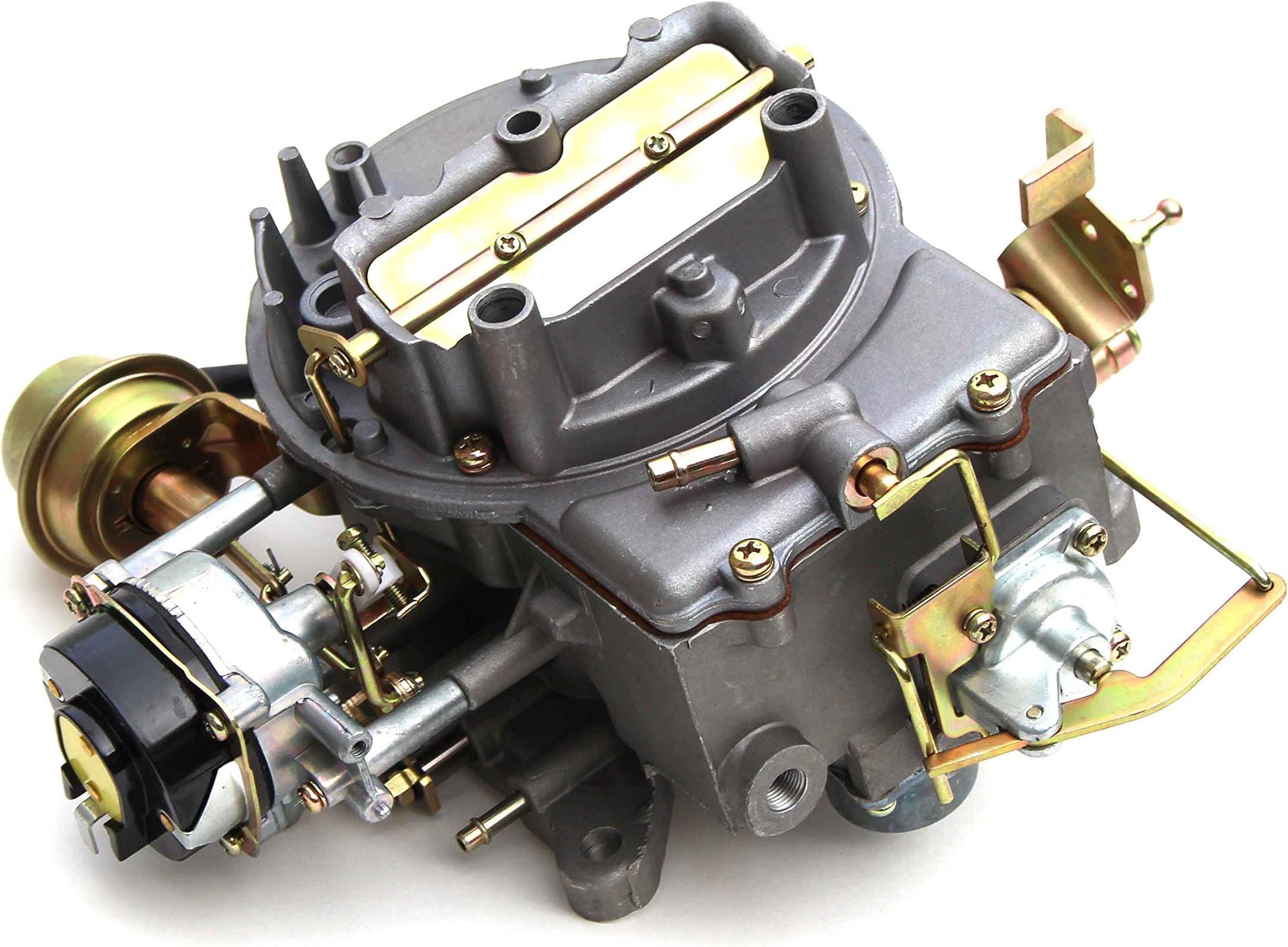 amazon com carburetors carburetors \u0026 parts automotivenew carburetor two 2 barrel carburetor carb 2100 for ford 289 302 351 cu jeep engine