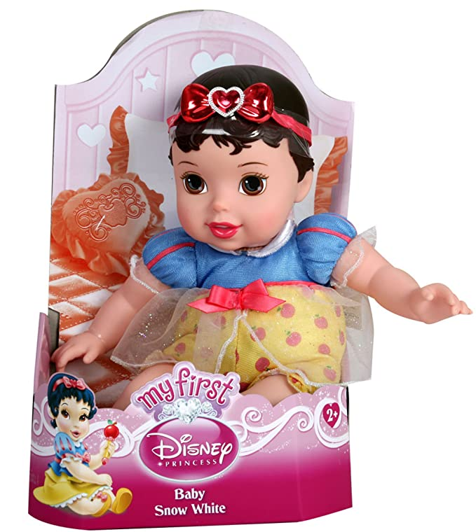 Amazon.com: My First Disney Princess Baby Doll - Snow White (Style ...