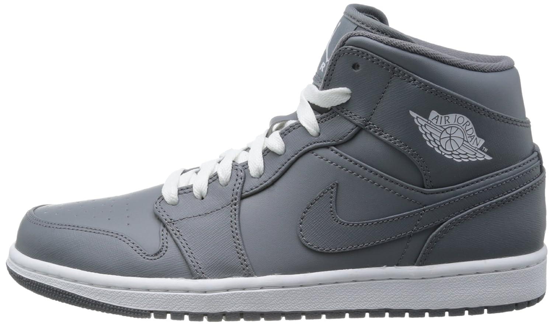 nike mens nike air jordan 1 mid basketball shoes