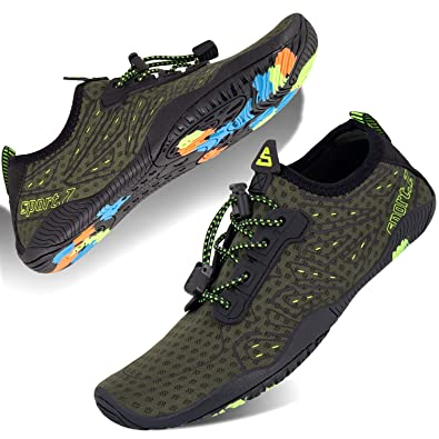 435b3e7033f0 Mabove Water Shoes Womens Mens Quick Dry Barefoot Sports Aqua Shoes for  Swimming Pool Beach Boating